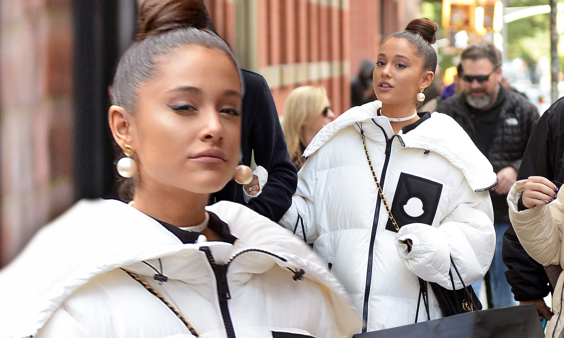 Ariana Grande Goes Shopping After Pete Davidson Split
