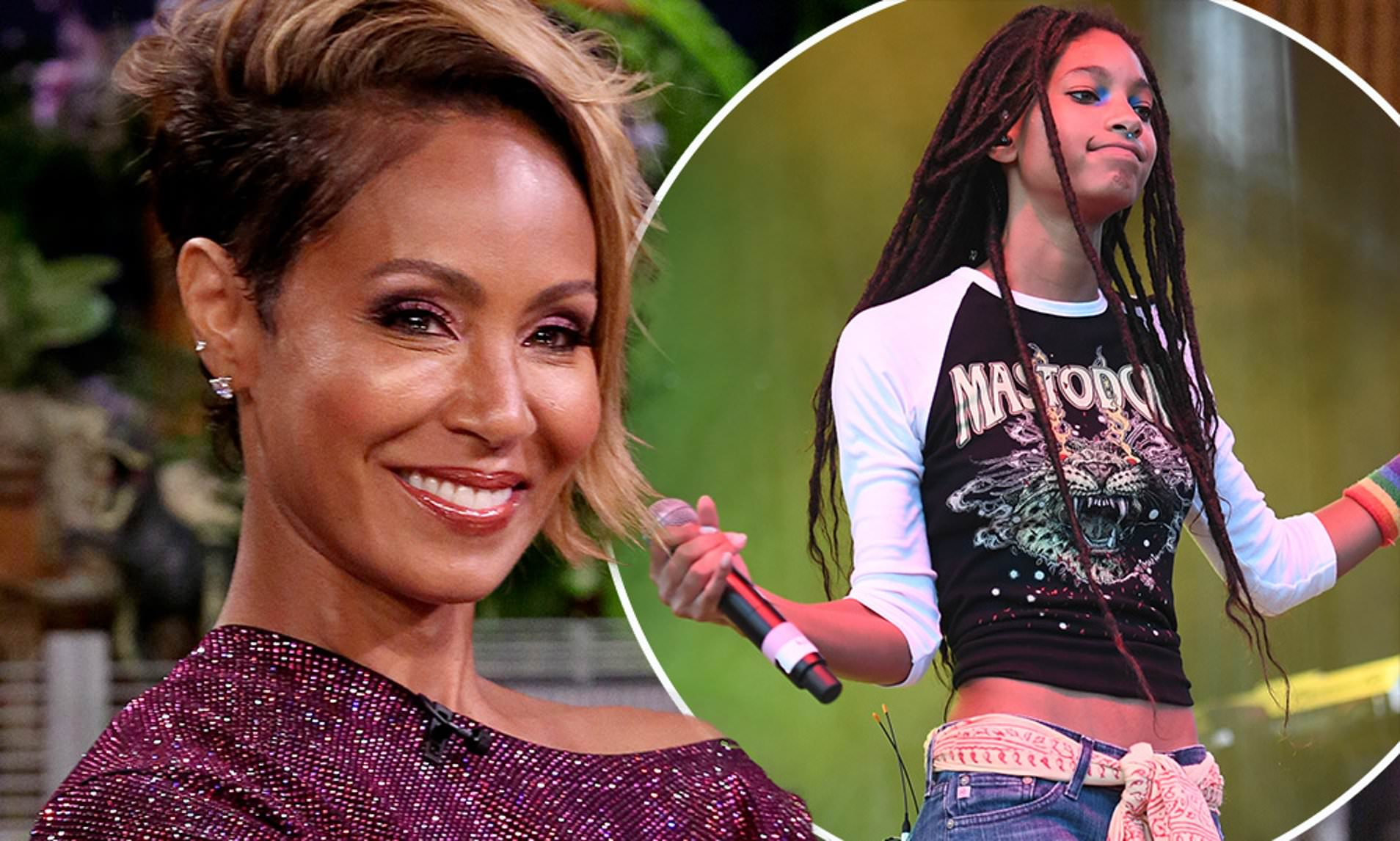 Jada Pinkett-Smith Says She's Proud Of Willow For Talking About Self-Harm Struggle