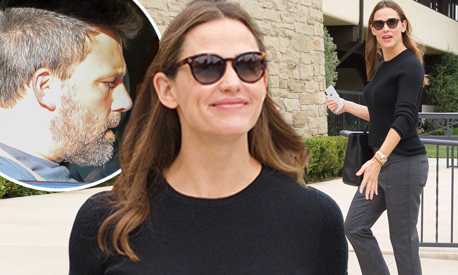 Jennifer Garner Heads To Church After Ben Affleck Returns To Rehab In LA