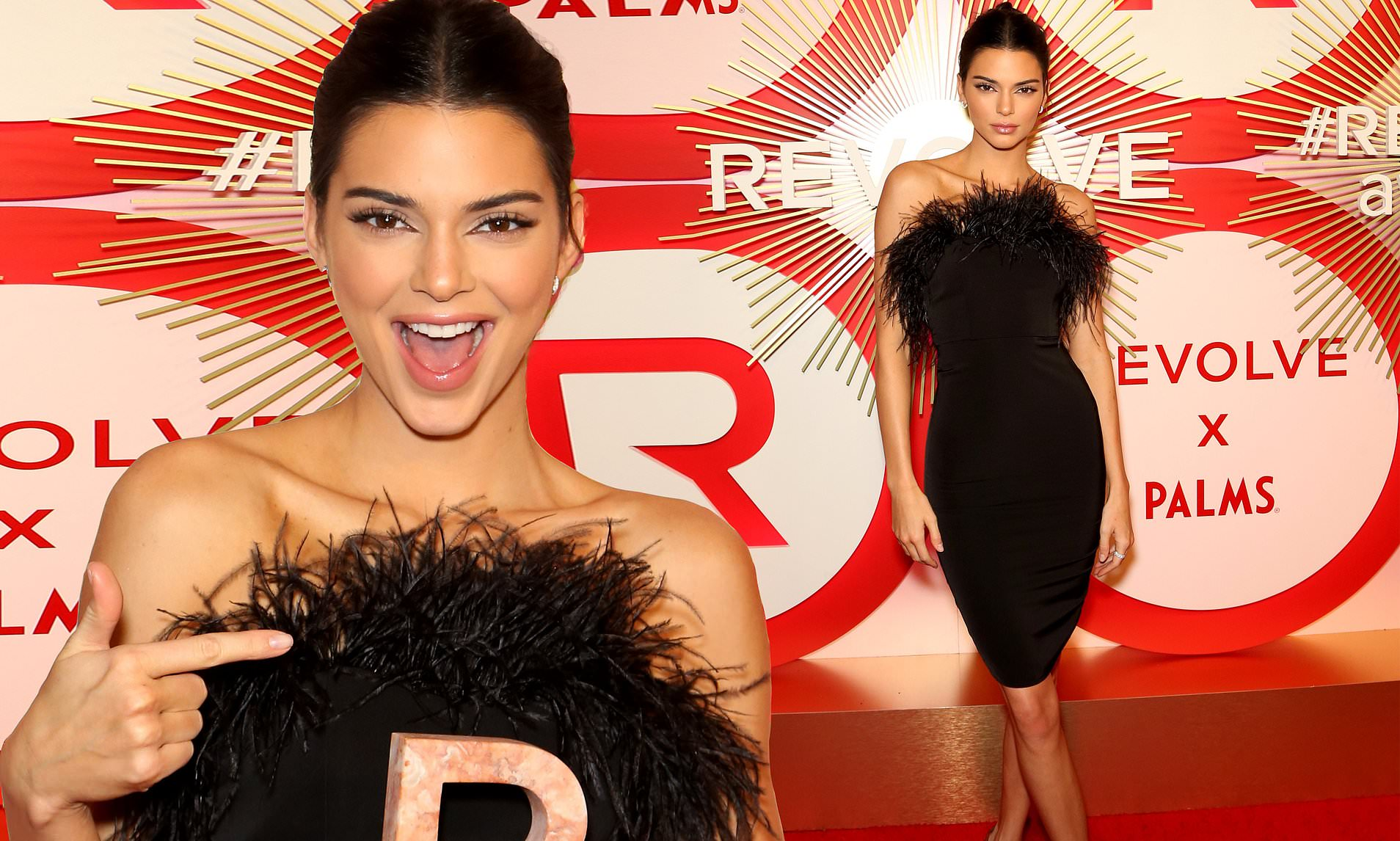 Kendall Jenner Stuns At The REVOLT Awards