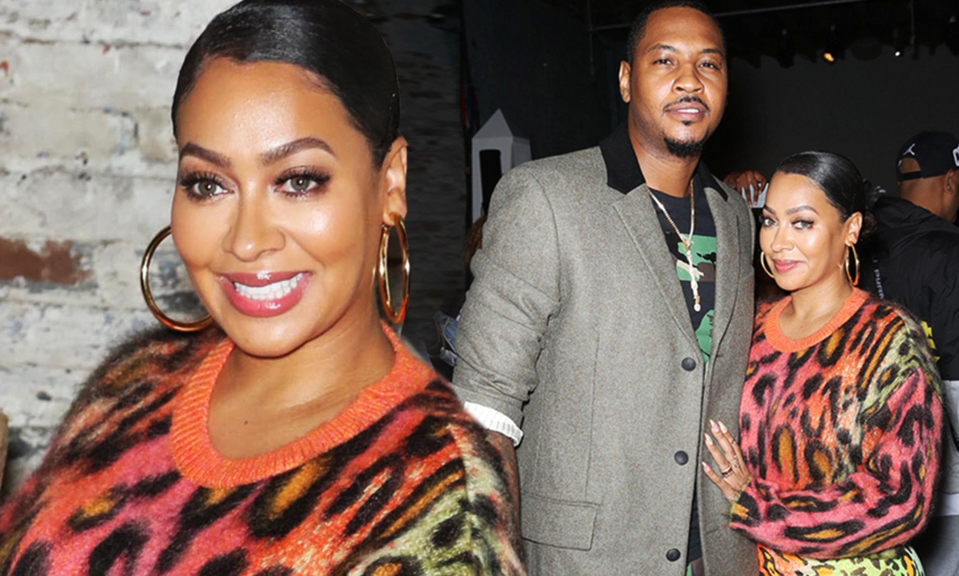 La La Anthony Reunites With Estranged Husband In New York