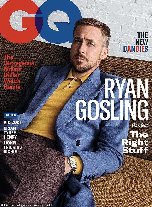 Ryan Gosling Talks New Flick 'First Man' With 'GQ'