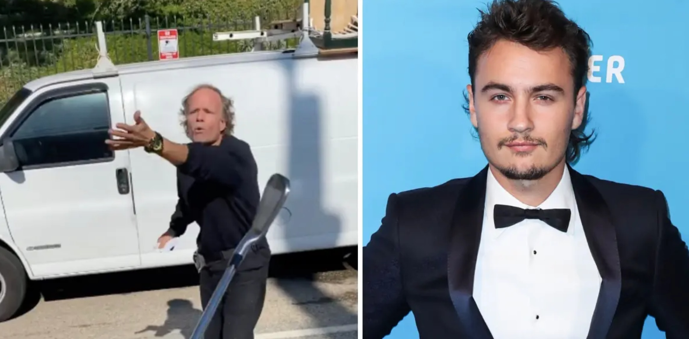 Pam Anderson's Son Loses His Cool On An Intruder